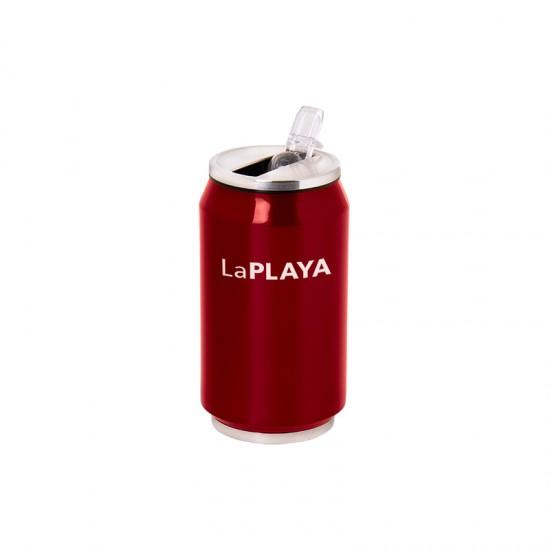 ΘΕΡΜΟΣ LAPLAYA THERMO DRINK COOL CAN 0,35lt RED