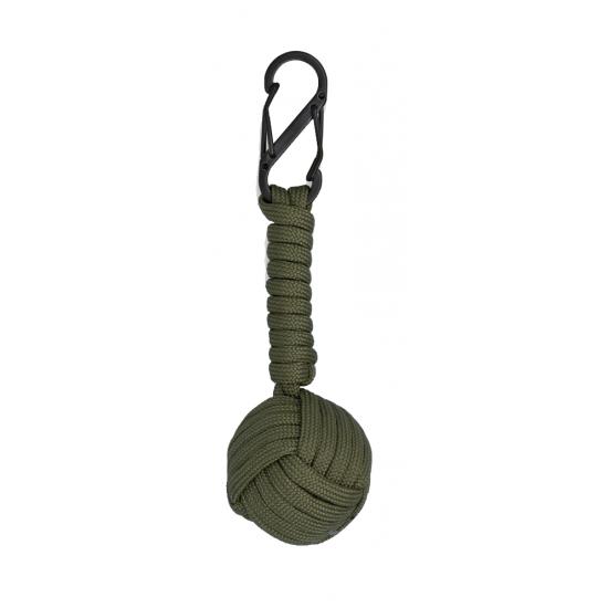 ΜΠΡΕΛΟΚ Albainox Double carabiner with paracord ball