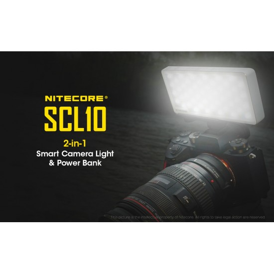 POWER BANK & CAMERA LIGHT 2in1 NITECORE SCL10