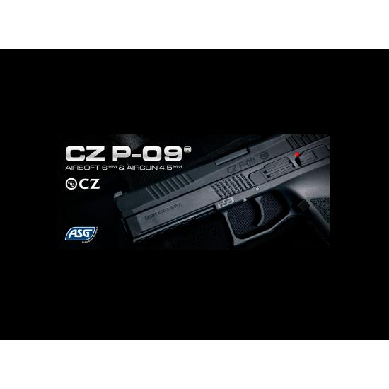 ΠΙΣΤΟΛΙ GBB, ASG, CZ P-09