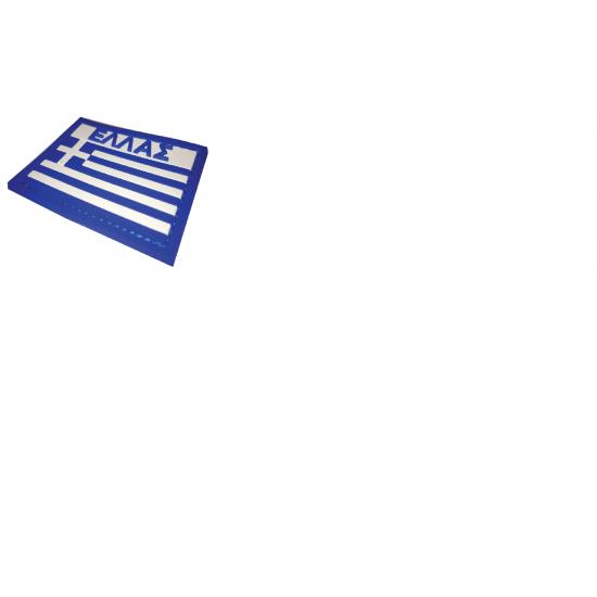 ΣΗΜΑ  3D ΚΑΟΥΤΣΟΥΚ-PVC ΕΛΛΗΝΙΚΗ ΣΗΜΑΙΑ