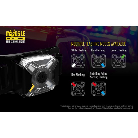 ΦΑΚΟΣ LED NITECORE HEADLAMP NU05LE