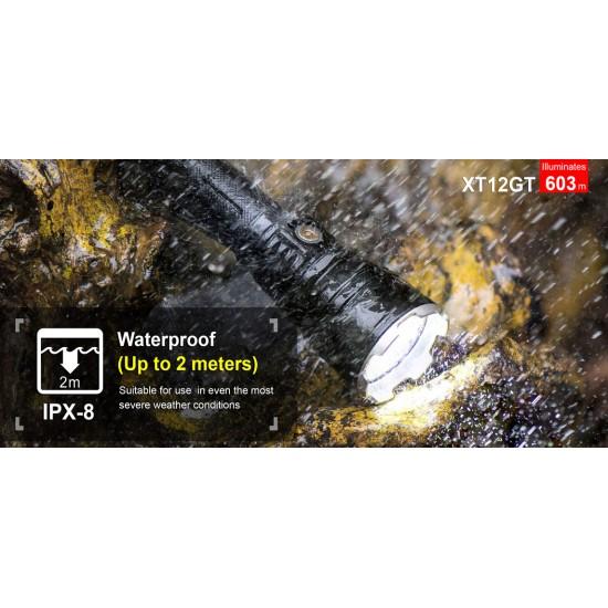 ΕΠΙΧΕΙΡΗΣΙΑΚΟΣ ΦΑΚΟΣ KLARUS XT12GT 1600lumens