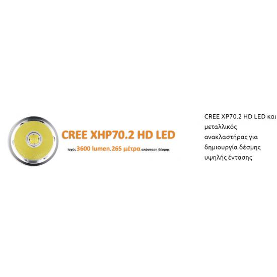 ΦΑΚΟΣ LED FITORCH P26R 3600 LUMENS