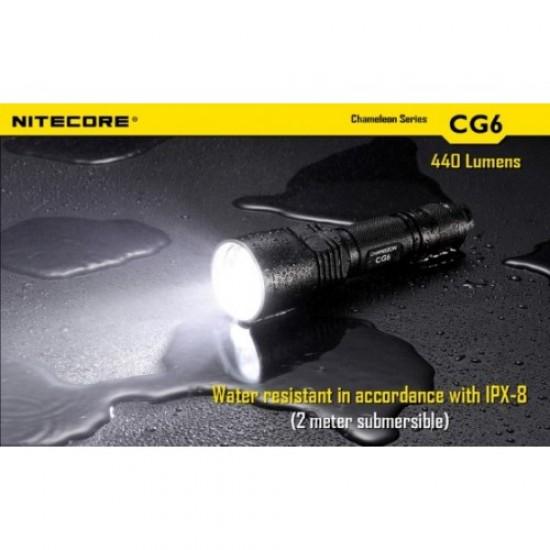 ΦΑΚΟΣ LED NITECORE CAMELEON CG6, GREEN