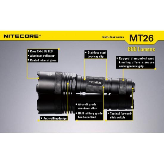 ΦΑΚΟΣ LED NITECORE MULTI TASK MT26