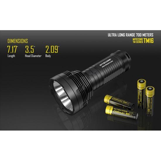 ΦΑΚΟΣ LED NITECORE Tiny Monster TM16, 4000Lumens