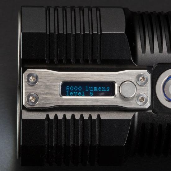 ΦΑΚΟΣ LED NITECORE TM28 6000 Lumens 4X18650-protection board