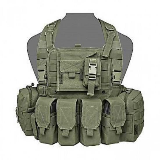 ΓΙΛΕΚΟ ΜΑΧΗΣ CHEST RIG WARRIOR ASSAULT 901 Elite Ops Bravo M4 ΘΗΚΕΣ ΜΕ ΚΑΠΑΚΙ