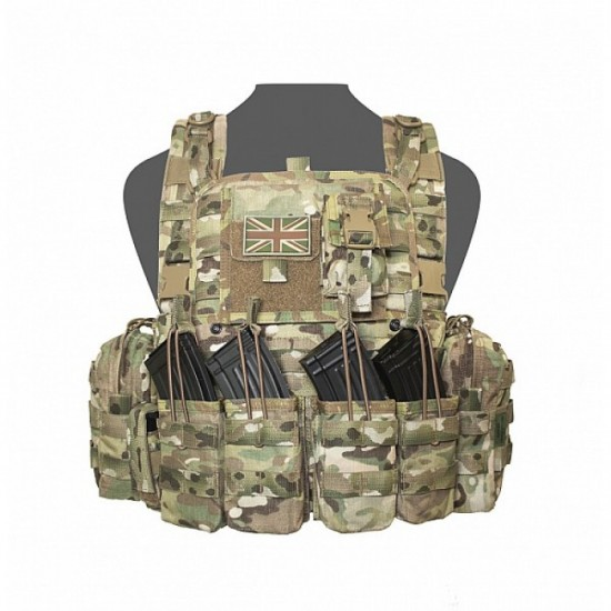 CHEST RIG WARRIOR ASSAULT 901 ELITE OPS BRAVO M4 OPEN TOP