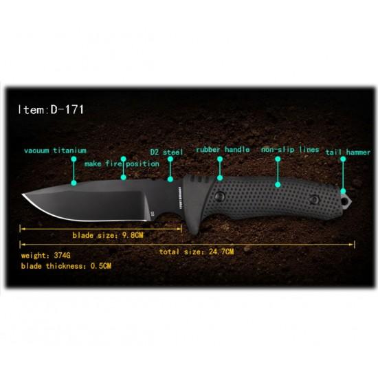 ΜΑΧΑΙΡΙ ALPIN D-171 TACTICAL KNIFE