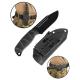 ΜΑΧΑΙΡΙ MILTEC BLACK COMBAT KNIFE G10 WITH KYDEX SCABBARD